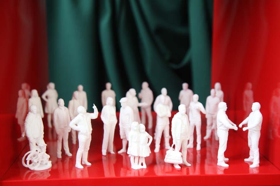 3D printed mini sculptures