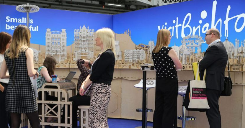 Visit Brighton Exhibition Stand